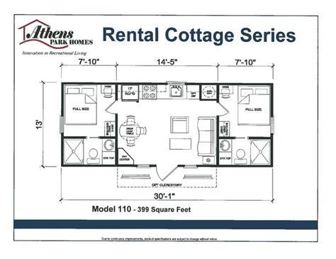 park model mobile home floor plans floor plan athens park model home mobile homes