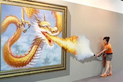 china painting show china s magic exhibition shows interactive 3d
