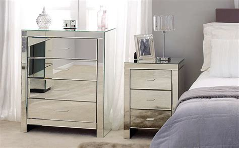 bedroom with mirrored furniture dunlem venetian mirrored bedroom furniture bedroom furniture