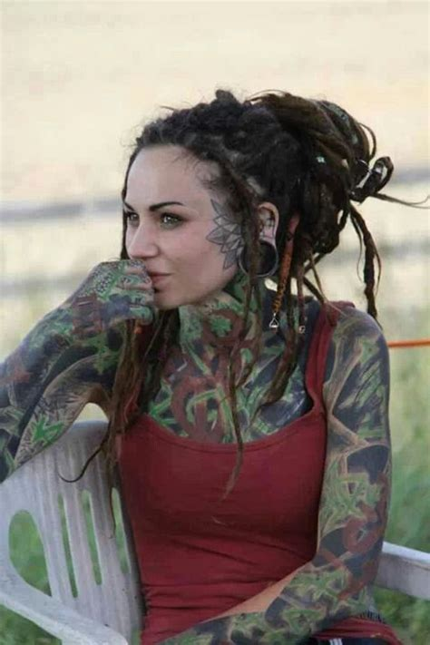 dreads with dreads and tattoos jah