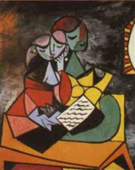 picasso paintings reading secuencias textuales