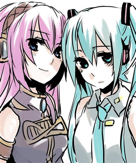 vocaloid yuri vocaloid yuri images luka x miku wallpaper and background
