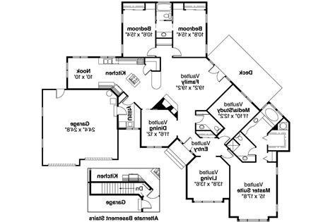 house plans two master suites one story one story house plans two master bedrooms