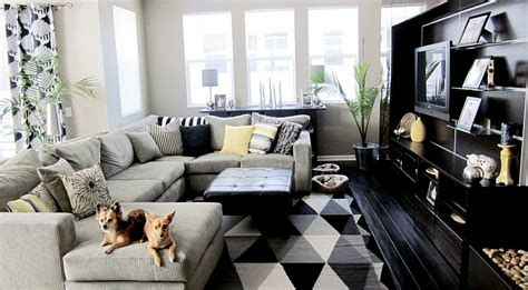 black and living room black and white living rooms design ideas