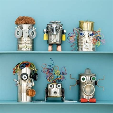 robot crafts for can do robots crafts