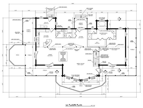 runner up best multi level log home plan barna log homes