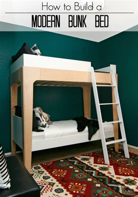 how to make bunk bed pneumatic addict how to build modern bunk beds