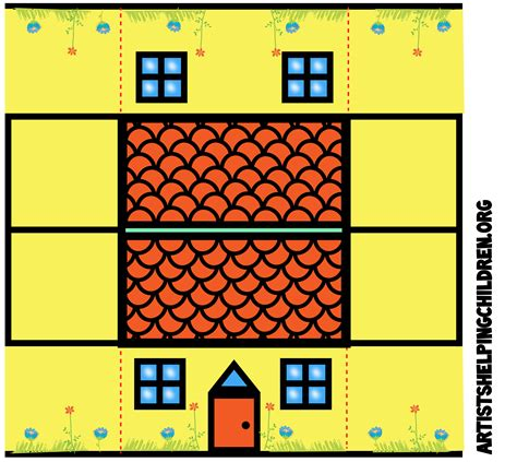 paper houses craft best photos of paper house printable craft templates