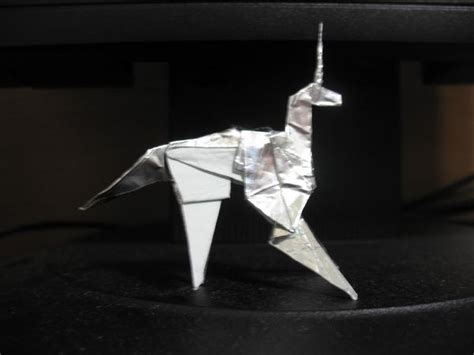 origami blade origami unicorn from blade runner what why