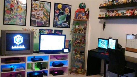 gaming room setup nintendo gaming room setup tour 2016