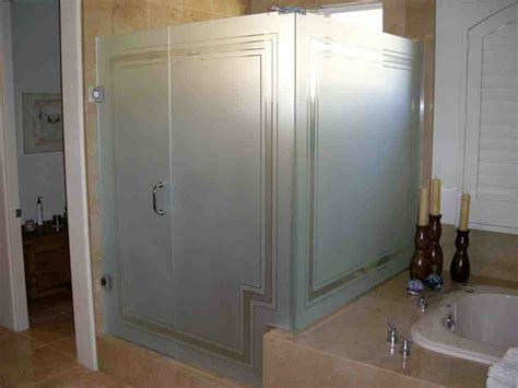 shower door frosting glass shower door images