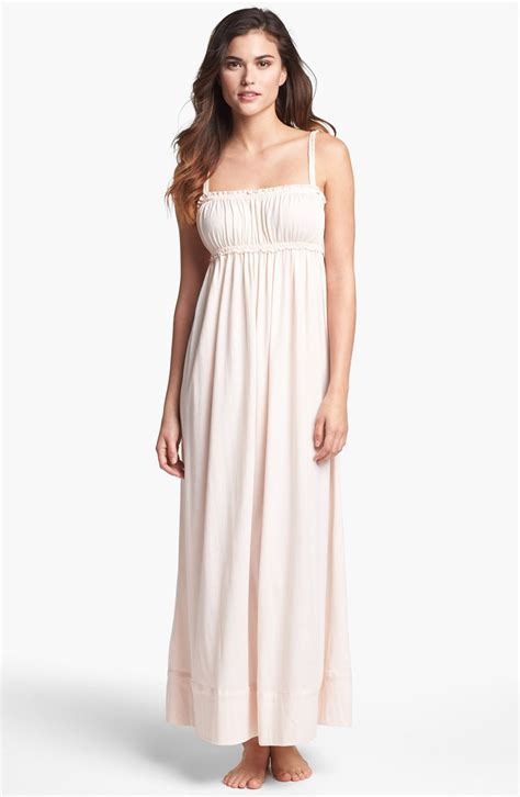 Donna Karan New York Casual Luxe Knit Nightgown In