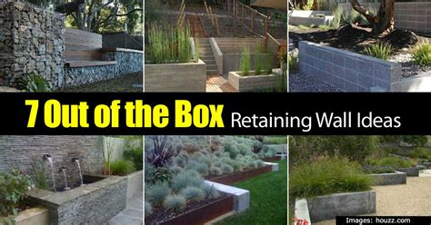 retaining garden wall ideas retaining wall ideas how to use a wonderful landscape tool