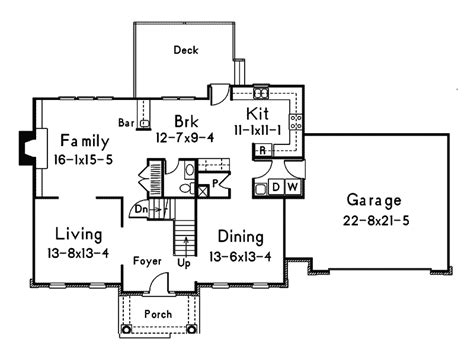 colonial house floor plans hshire colonial home plan 001d 0017 house plans and more