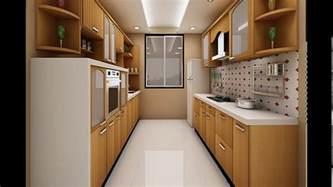 parallel kitchen design indian parallel kitchen interior design