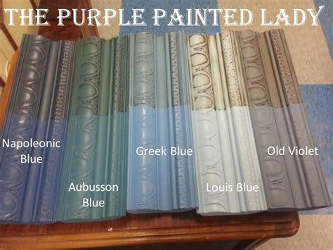 chalk paint using two colors differences between sloan s blue chalk paint