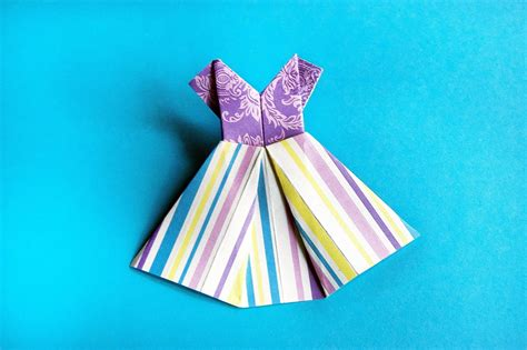 how to make a paper dress origami how to make paper dress origami