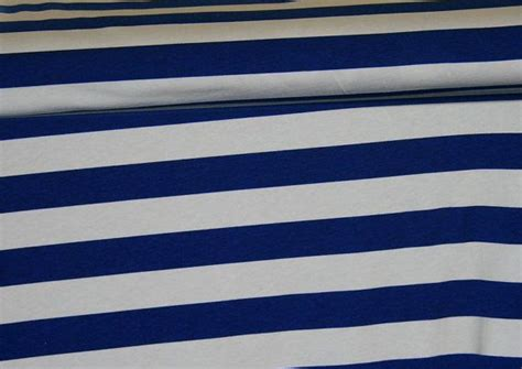 blue and white striped knit fabric 1 quot navy blue and white stripe jersey knit fabric fabrics