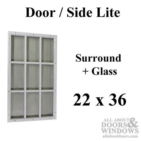 9 light exterior door half lite for steel doors door glass surround