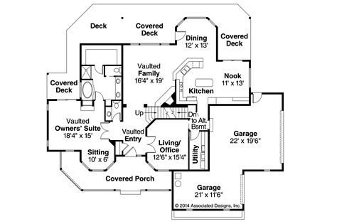 country house floor plans country house plans heartwood 10 300 associated designs