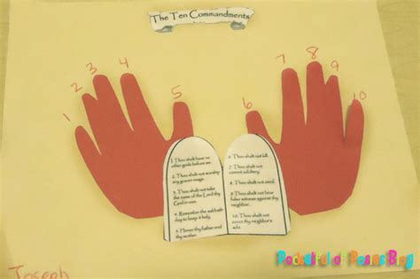 10 commandments for crafts sunday school crafts the 10 commandments blessings