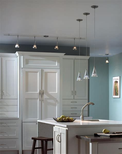 track light kitchen modern lighting design kitchen lighting