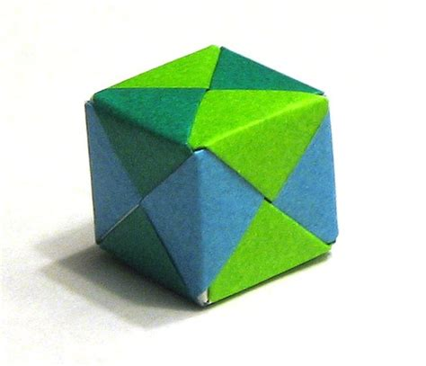 3d cube origami origami cube cube made from 6 pieces of origami paper
