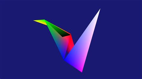 3d Origami Bird Screen Saver For Windows 10 Topwindata