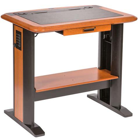 desk for standing up stand up computer desk plans image mag