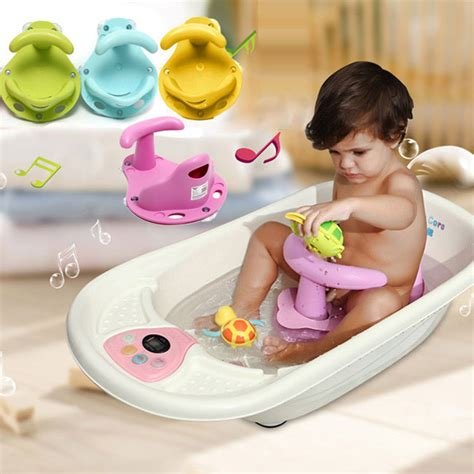 toddler bath tubs for showers 4 colors baby bath tub ring seat infant children shower