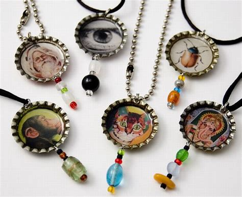 how to make bottle cap jewelry 10 creative reuses of plastic bottle caps green diary