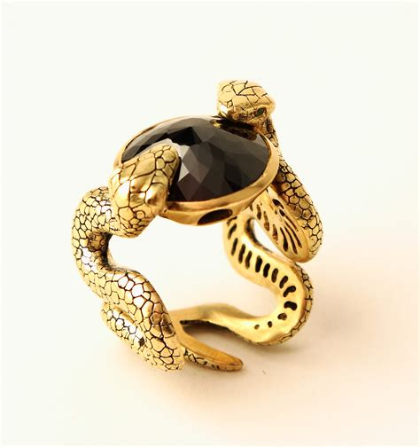 rings jewelry local fashion snake motif in jewelry