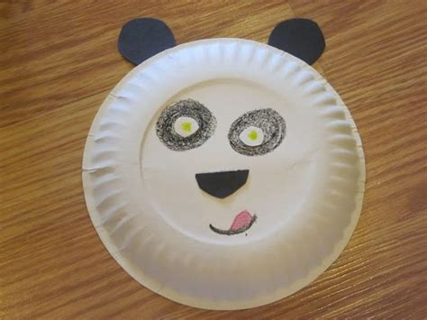 panda paper plate craft kung foo panda for work crafts kid and paper