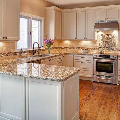 small kitchen design with peninsula giallo napoli granite kitchen photos