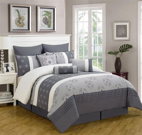 grey blue comforter set gray and blue bedding sets spillo caves
