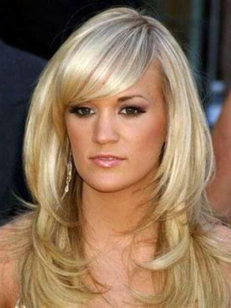 layered medium lenght hair with bangs layered hairstyles with bangs for medium length hair