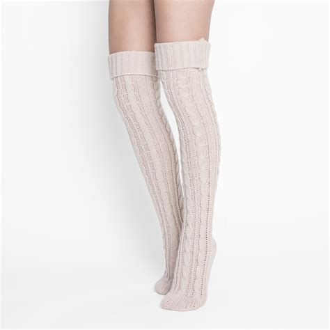 cable knit the knee socks cable knit the knee socks