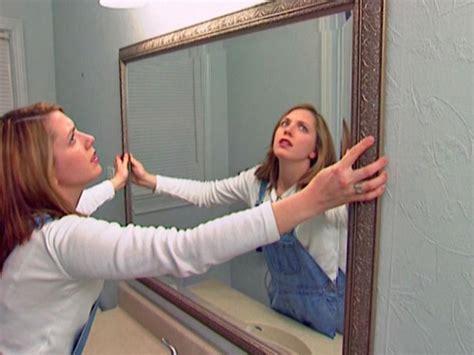 install bathroom mirror how to install a bathroom mirror how tos diy