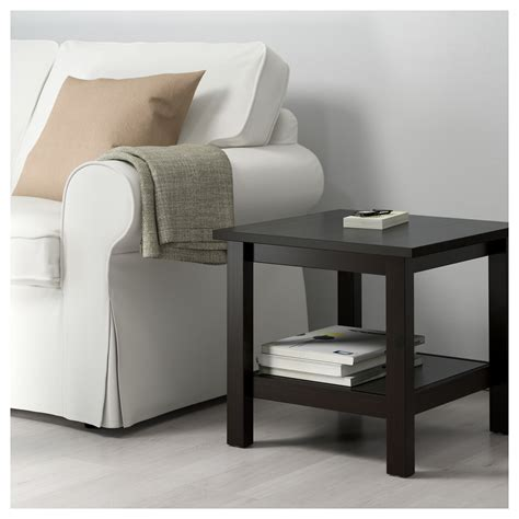 hemnes coffee table black brown hemnes side table black brown 55x55 cm ikea