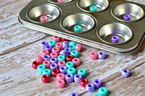 baking crafts for the of melted pony bead jewelry