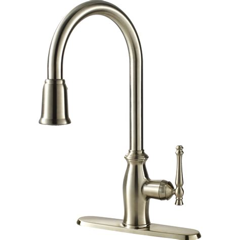pictures of kitchen faucets water efficient single handle kitchen faucet with pull spray ultra faucets