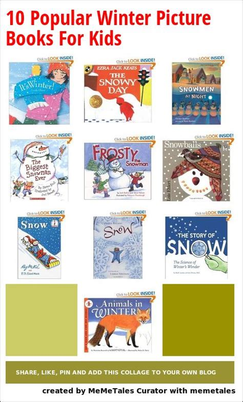 picture book for children 10 popular winter picture books for the children s