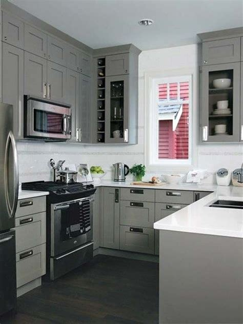 kitchen design square room best 25 small u shaped kitchens ideas on u