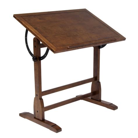 antique oak drafting table new studio designs rustic oak vintage drafting table