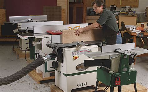 woodworking jointer reviews tool test jointer planer combination machines