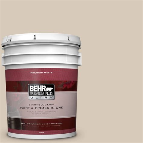 behr paint color almond wisp behr premium plus ultra 5 gal ppu5 12 almond wisp flat