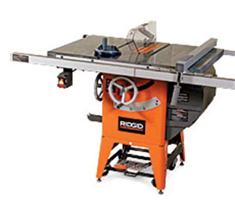 rigid woodworking tools ridgid tools r4511 hybrid tablesaw finewoodworking
