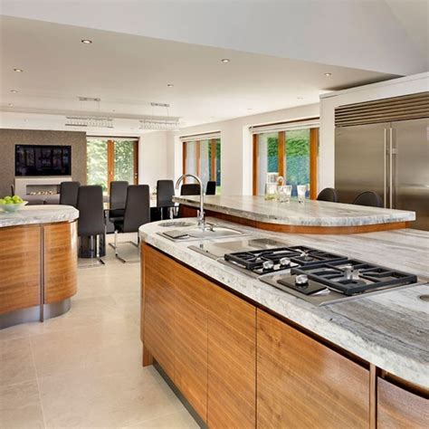 family kitchen design family kitchen diner with island trio family kitchen