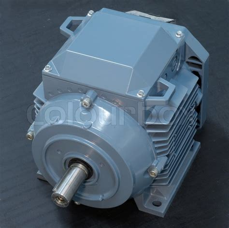 Big Electric Motor by Big Electric Motor Isolated On White Stock Photo Colourbox