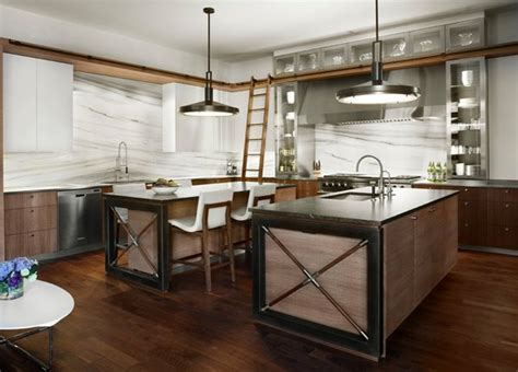 industrial kitchen island 15 outstanding industrial kitchens home design lover